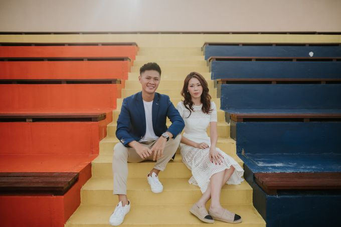 Clinton & Claire - Nanyang Polytechnic Engagement Shoot by Pixioo Photography - 023