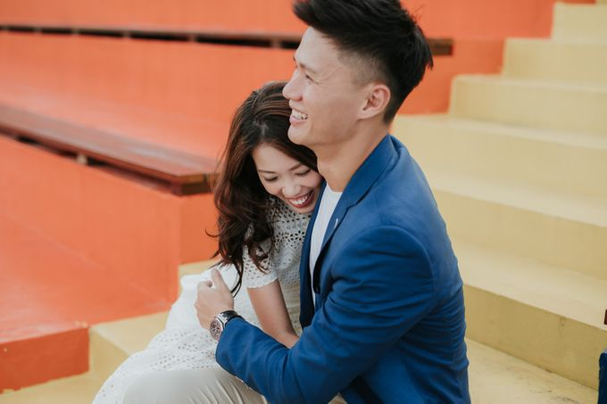 Clinton & Claire - Nanyang Polytechnic Engagement Shoot by Pixioo Photography - 025