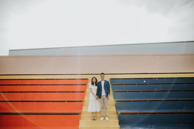 Clinton & Claire - Nanyang Polytechnic Engagement Shoot by Pixioo Photography - 026