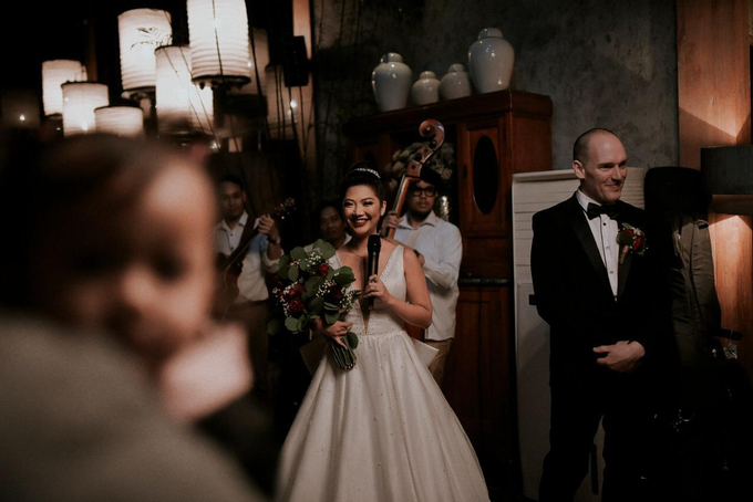Ron & Debbie's Wedding by Cloche Atelier - 003