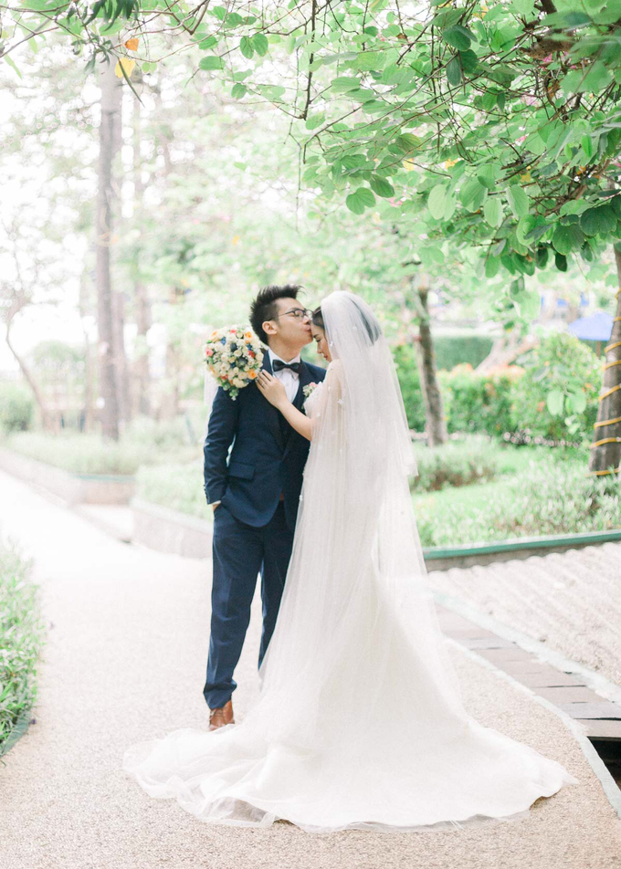 Kevin & Marisa's Wedding by Cloche Atelier - 003