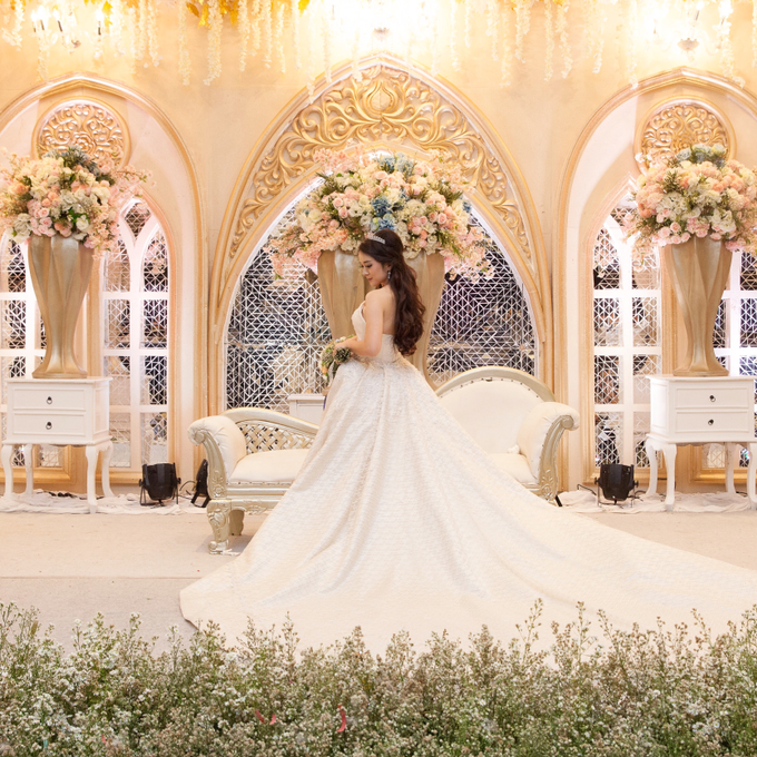 Kevin & Marisa's Wedding by Cloche Atelier - 006