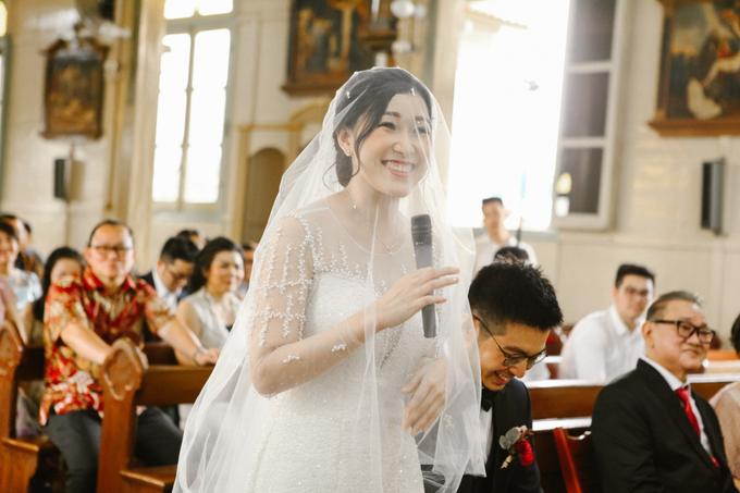 Anndy & Vinny's Wedding by Cloche Atelier - 002