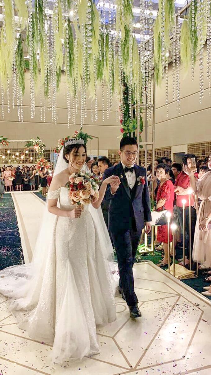 Anndy & Vinny's Wedding by Cloche Atelier - 007