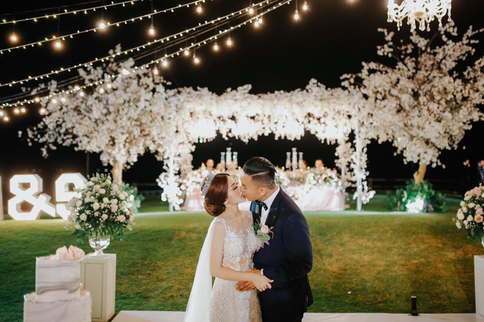 Romantic Glamorous Wedding by Cloris Decoration & Planner - 003