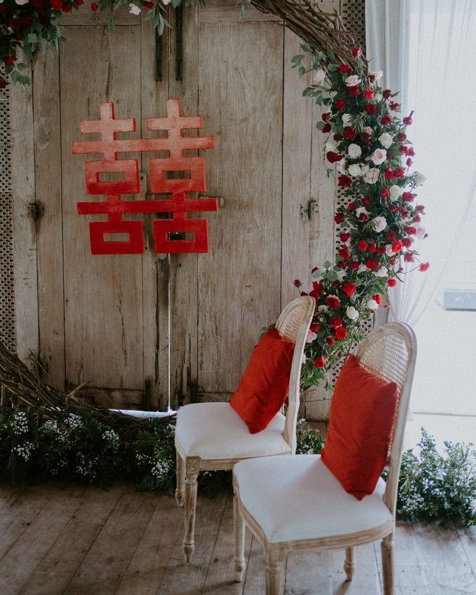 Clement & Leoni Cliff Side Wedding in Uluwatu by Khayangan Estate - 027
