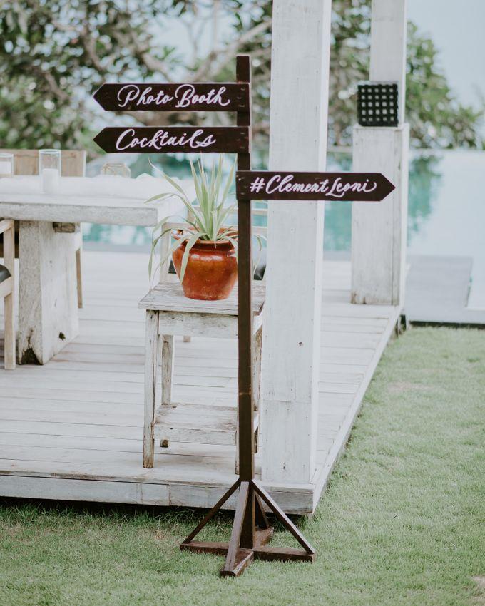 Clement & Leoni Cliff Side Wedding in Uluwatu by Khayangan Estate - 035