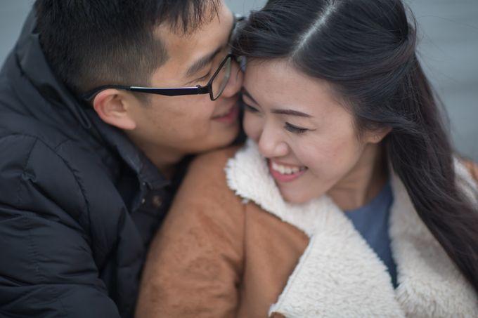 Pre Wedding by Jennis Wong Makeup - 001