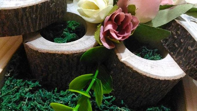 Wedding ring box by Hana Seserahan - 045