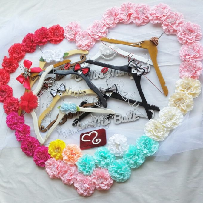 Wedding Hanger Name by Sweetlovecollection - 029