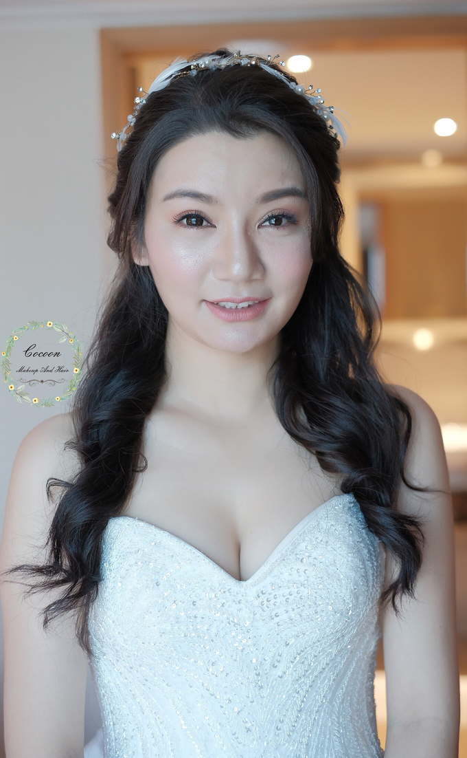 "My pretty bride ""Maggie Cheung "" by Cocoon makeup and hair - 001"