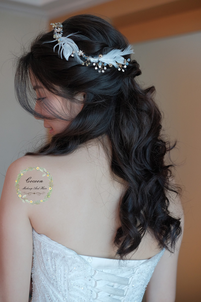 "My pretty bride ""Maggie Cheung "" by Cocoon makeup and hair - 004"