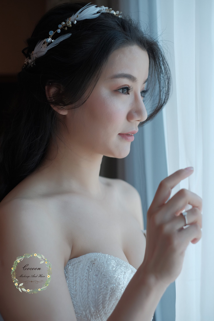 "My pretty bride ""Maggie Cheung "" by Cocoon makeup and hair - 005"