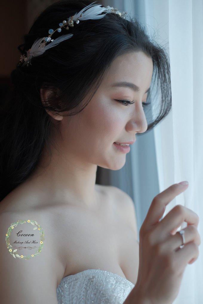 "My pretty bride ""Maggie Cheung "" by Cocoon makeup and hair - 006"