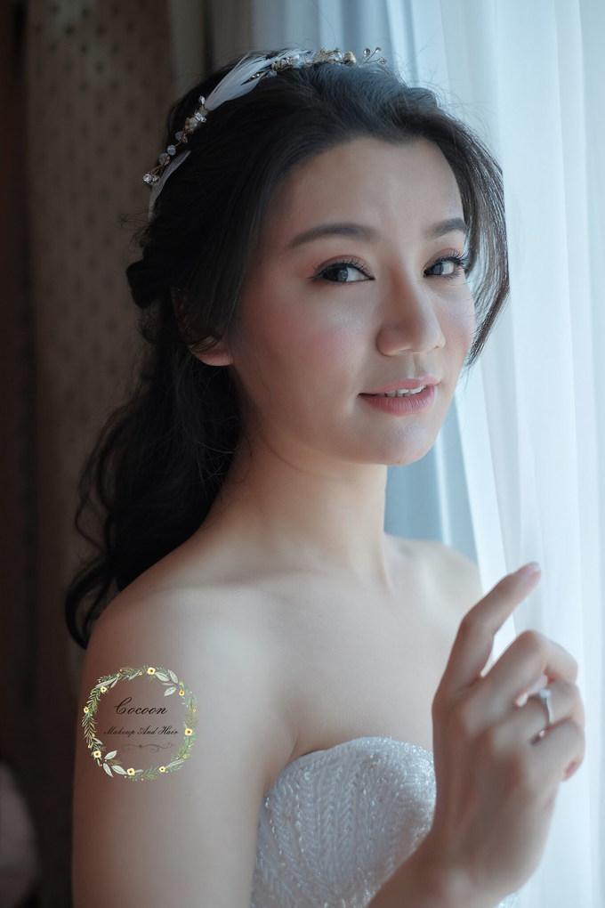 "My pretty bride ""Maggie Cheung "" by Cocoon makeup and hair - 007"