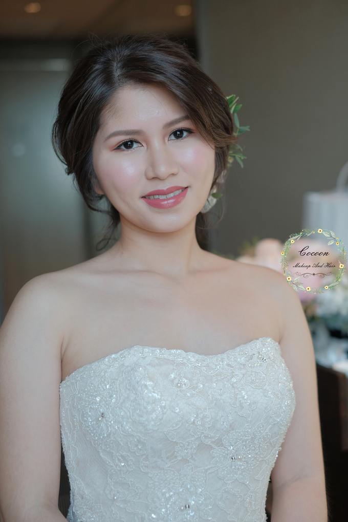 Bride Jaren  by Cocoon makeup and hair - 001