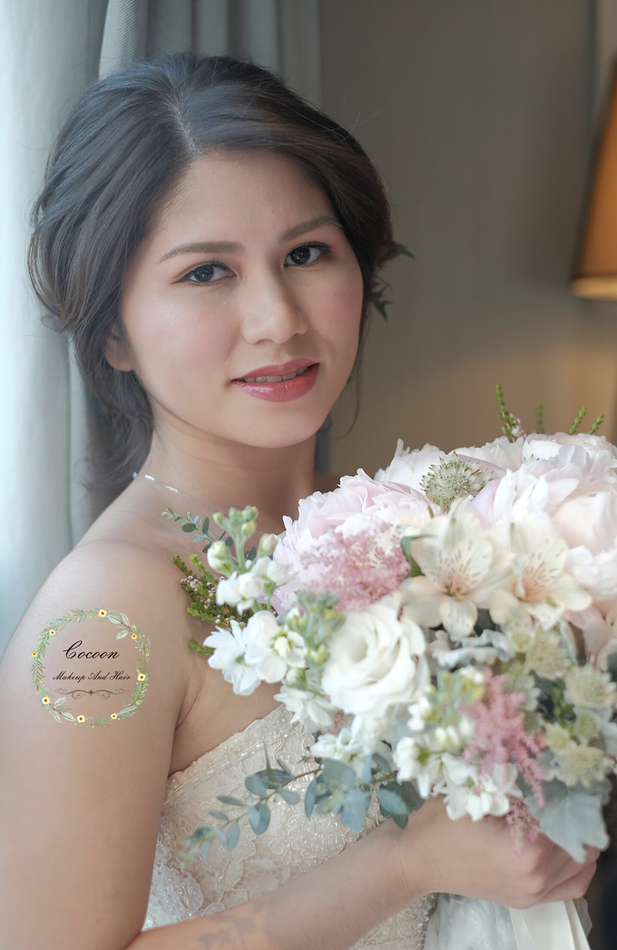 Bride Jaren  by Cocoon makeup and hair - 005