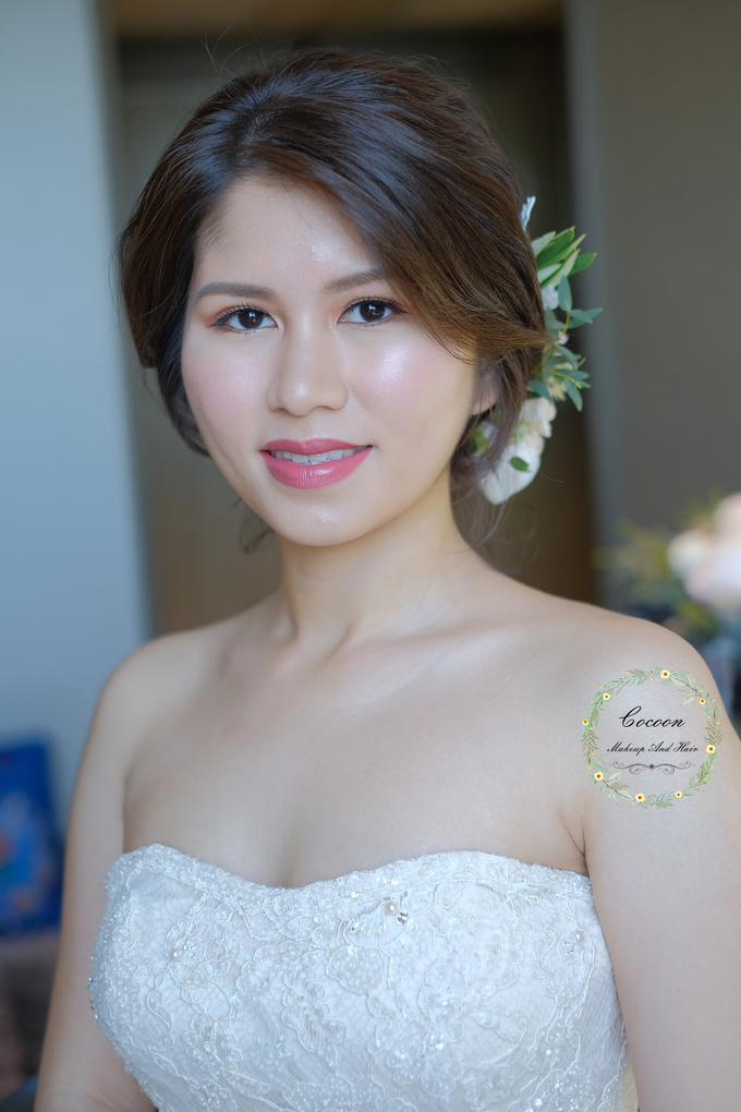 Bride Jaren  by Cocoon makeup and hair - 002