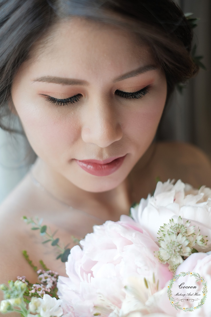 Bride Jaren  by Cocoon makeup and hair - 006