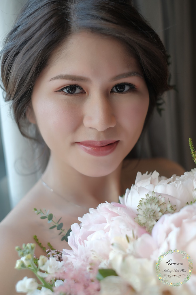 Bride Jaren  by Cocoon makeup and hair - 007