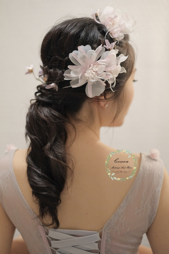 Snowy BatAm Wedding day by Cocoon makeup and hair - 006