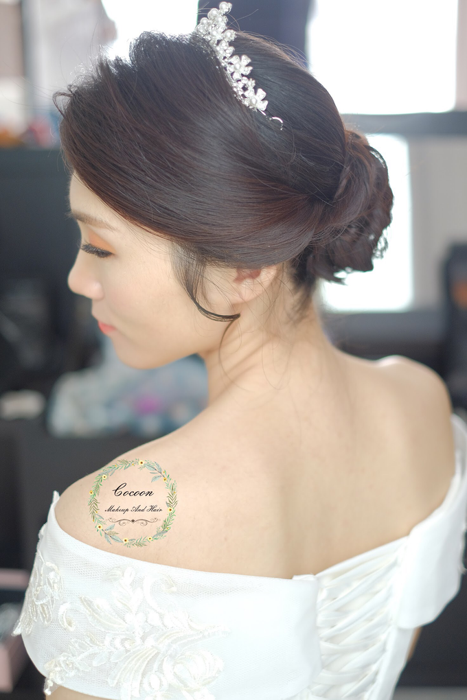 Snowy BatAm Wedding day by Cocoon makeup and hair - 007