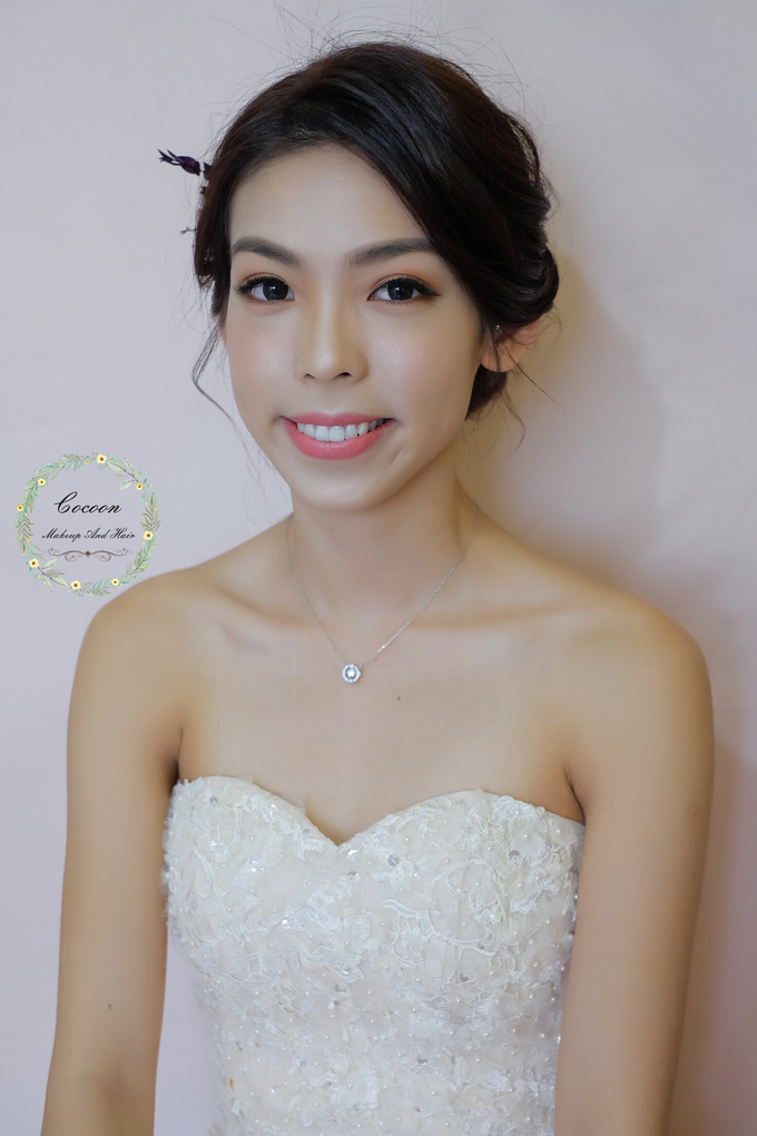 Bride Jielin  by Cocoon makeup and hair - 004