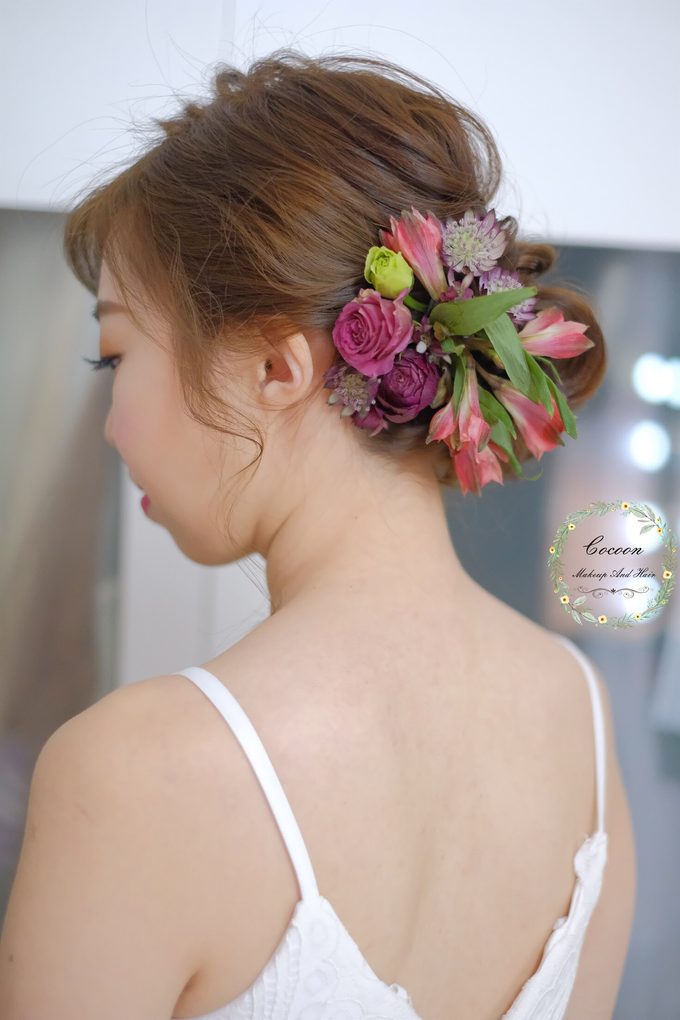 Bride Qingyu by Cocoon makeup and hair - 001