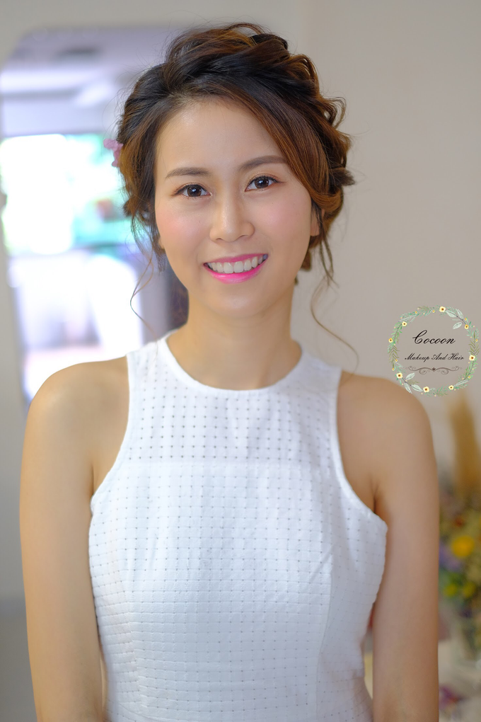 Bride Hui Yang  by Cocoon makeup and hair - 004