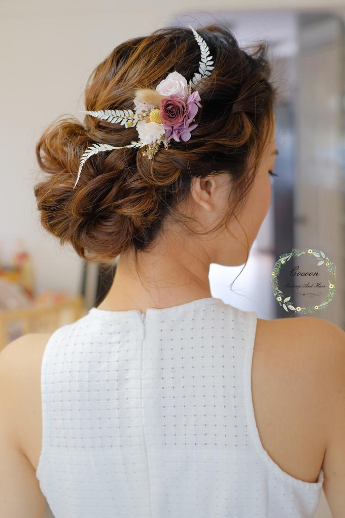 Bride Hui Yang  by Cocoon makeup and hair - 003