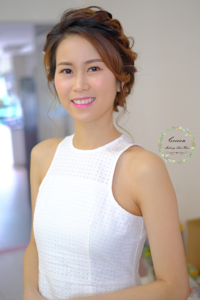 Bride Hui Yang  by Cocoon makeup and hair - 002