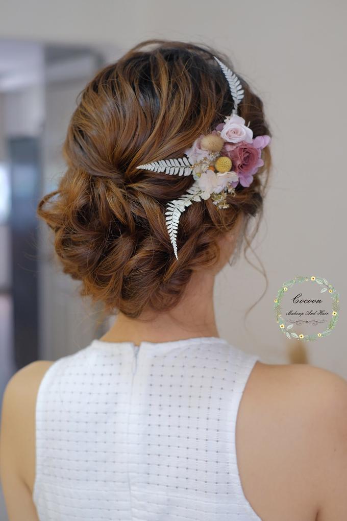 Bride Hui Yang  by Cocoon makeup and hair - 001