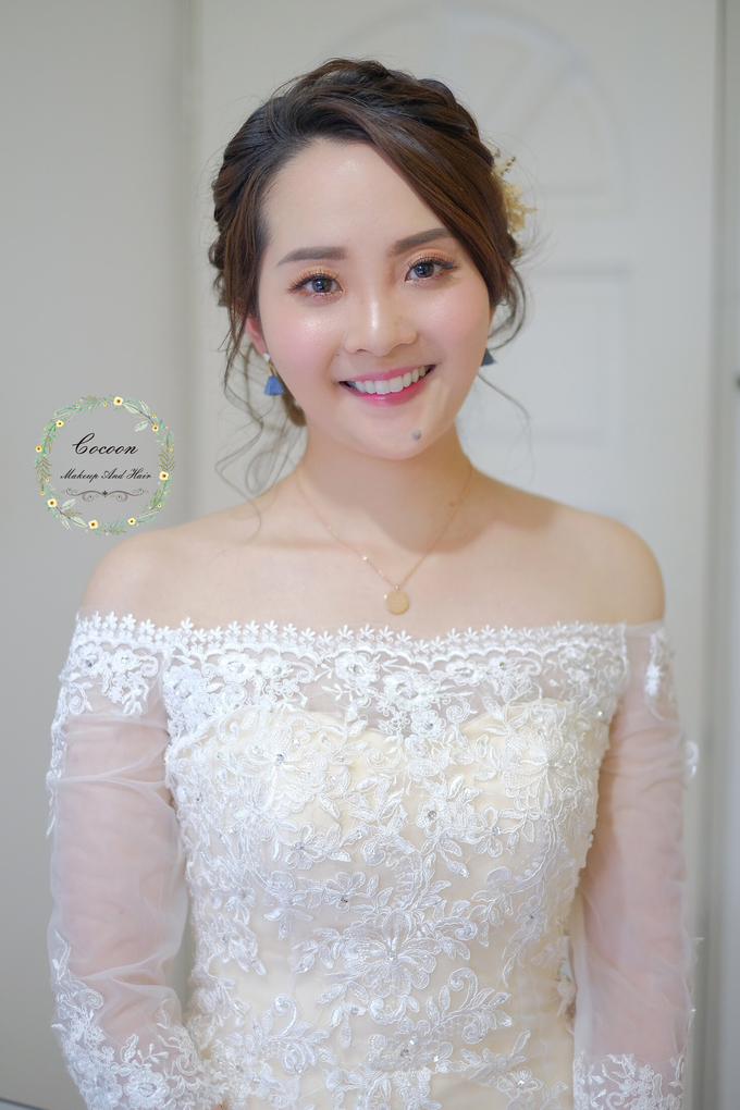Bride Rachel  by Cocoon makeup and hair - 001
