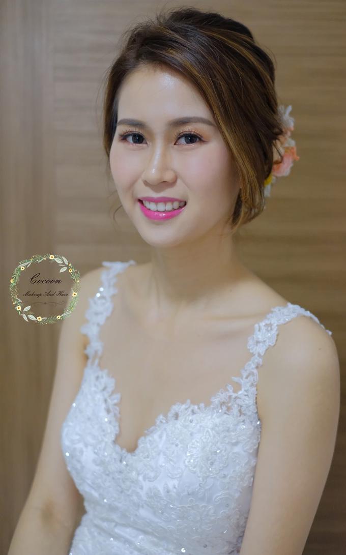 Bride Hui Yang  by Cocoon makeup and hair - 006