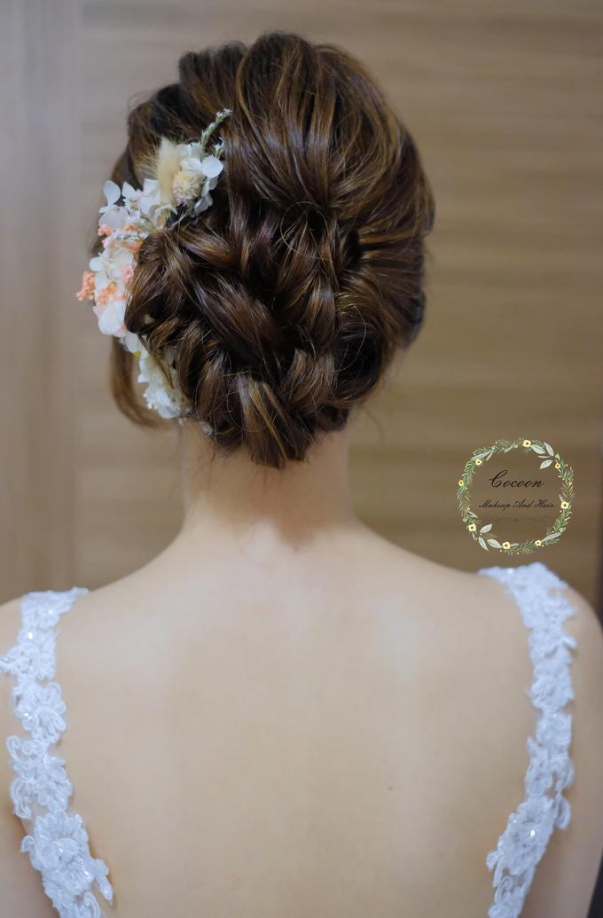 Bride Hui Yang  by Cocoon makeup and hair - 009