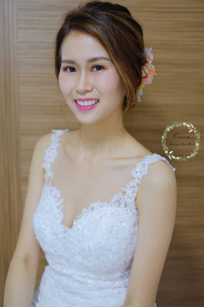 Bride Hui Yang  by Cocoon makeup and hair - 008
