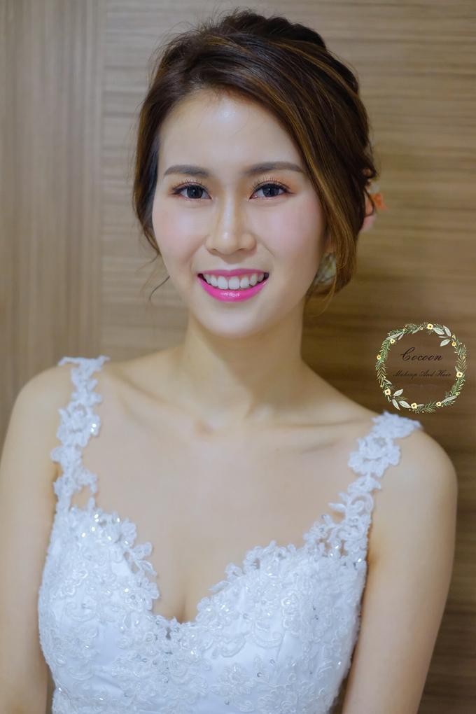 Bride Hui Yang  by Cocoon makeup and hair - 007