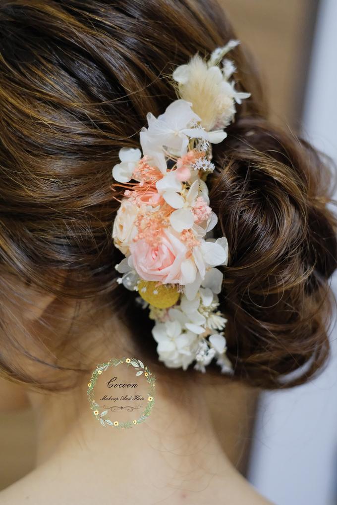 Bride Hui Yang  by Cocoon makeup and hair - 011