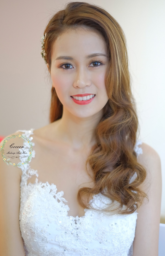 Bride Hui Yang  by Cocoon makeup and hair - 014