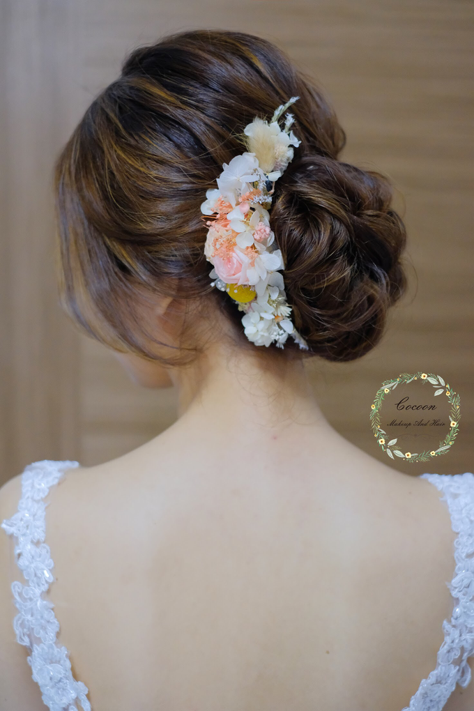 Bride Hui Yang  by Cocoon makeup and hair - 012