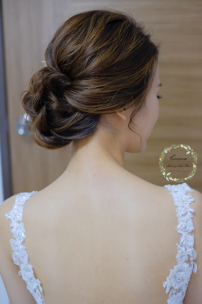 Bride Hui Yang  by Cocoon makeup and hair - 010