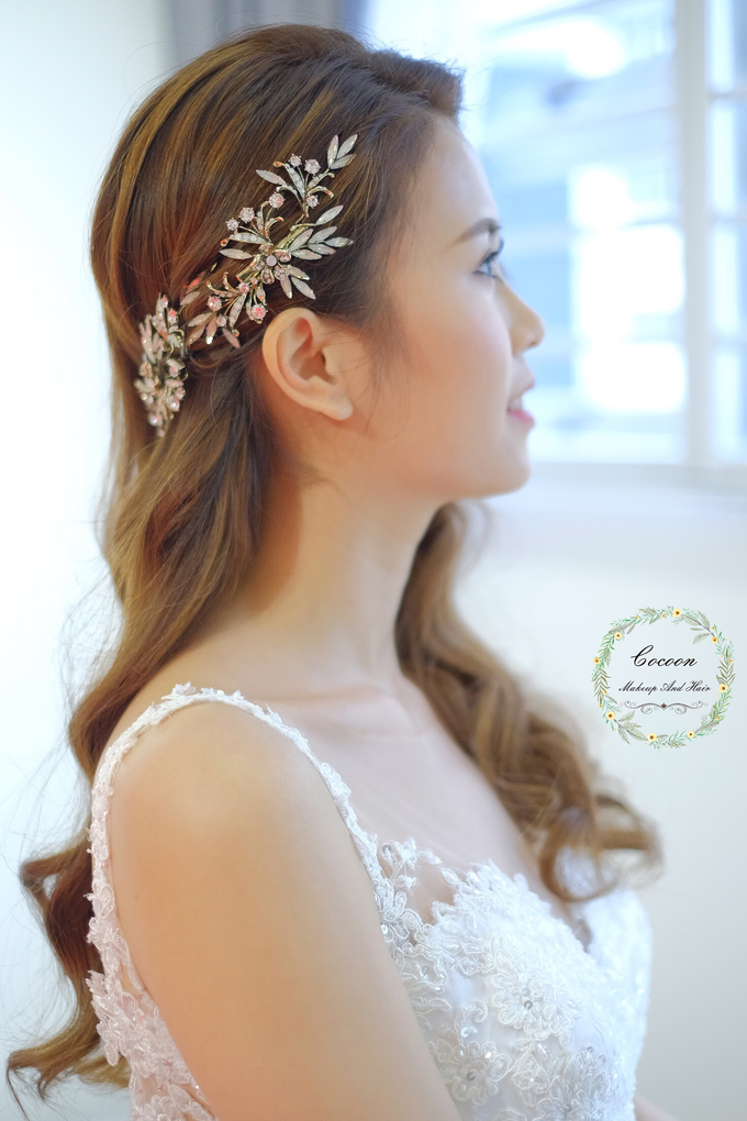 Bride Hui Yang  by Cocoon makeup and hair - 016