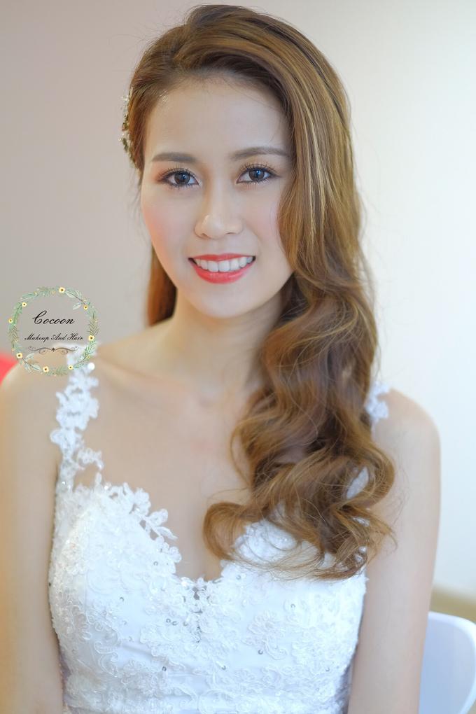 Bride Hui Yang  by Cocoon makeup and hair - 015