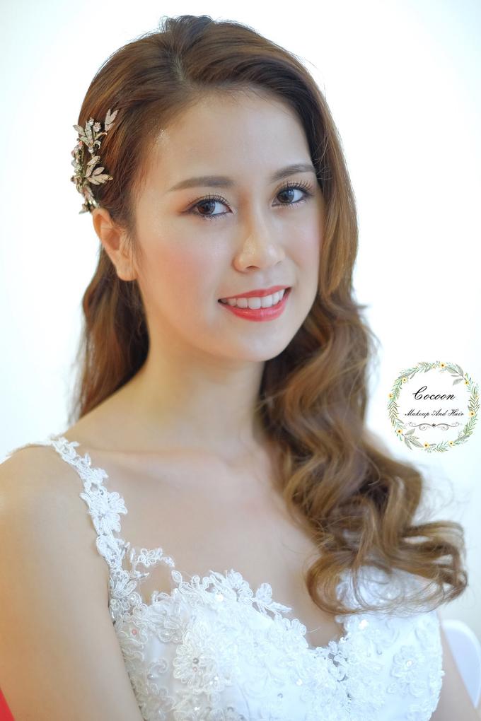 Bride Hui Yang  by Cocoon makeup and hair - 017