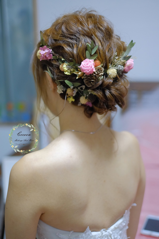 Bride Qingyu by Cocoon makeup and hair - 004