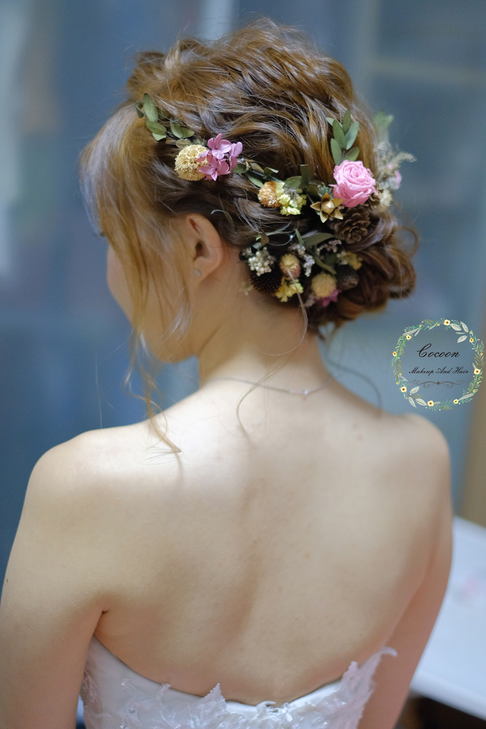 Bride Qingyu by Cocoon makeup and hair - 006