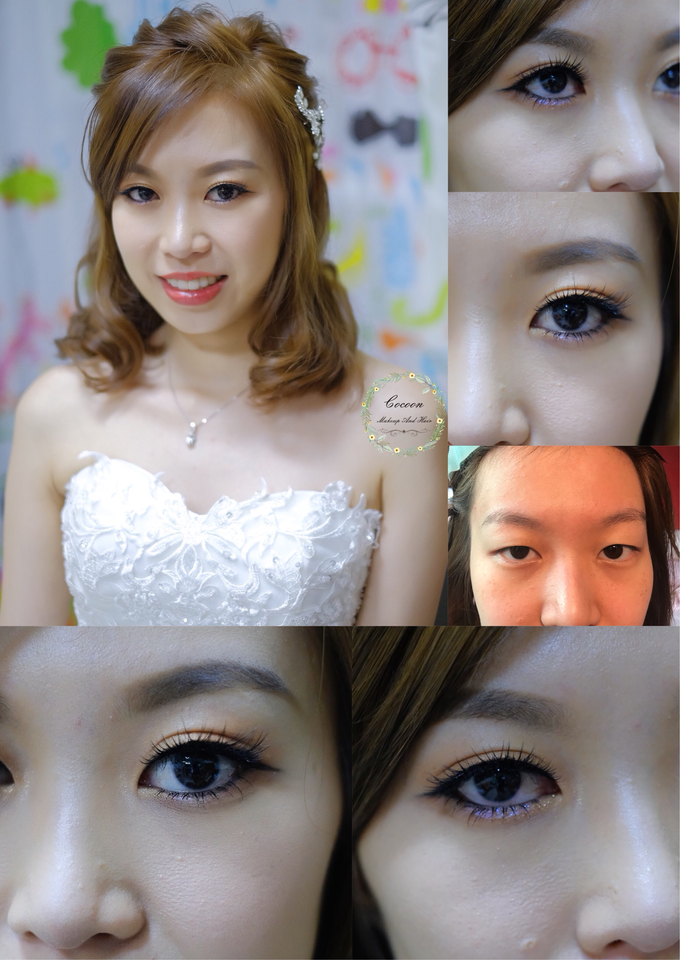 Bride Qingyu by Cocoon makeup and hair - 013