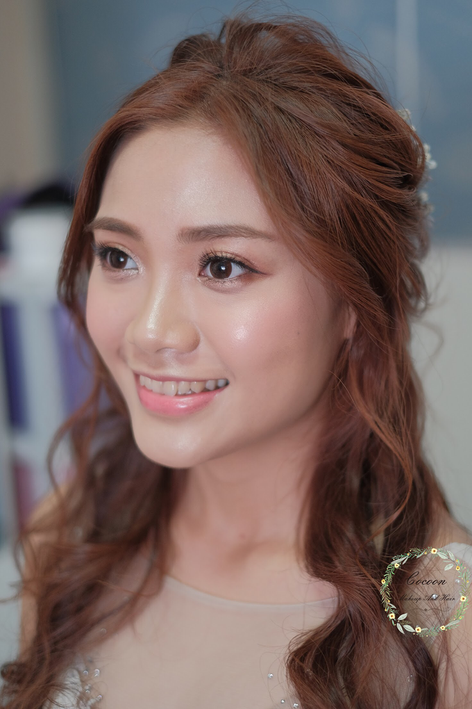 Bride Stephanie  by Cocoon makeup and hair - 001