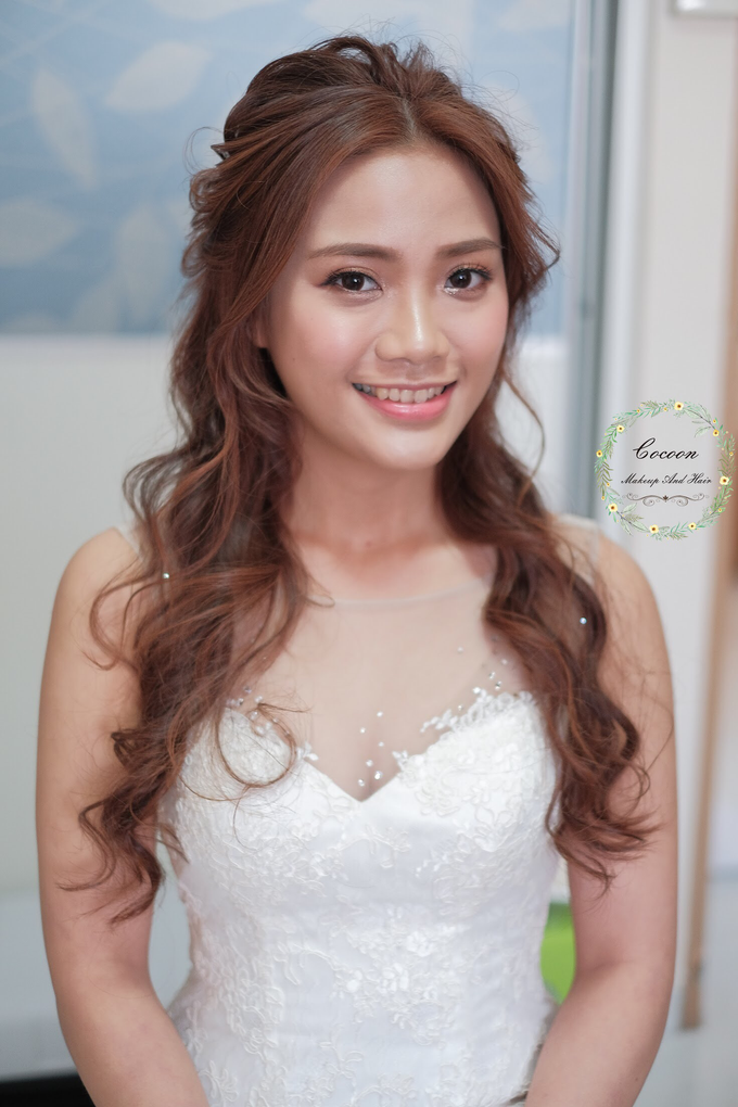 Bride Stephanie  by Cocoon makeup and hair - 004