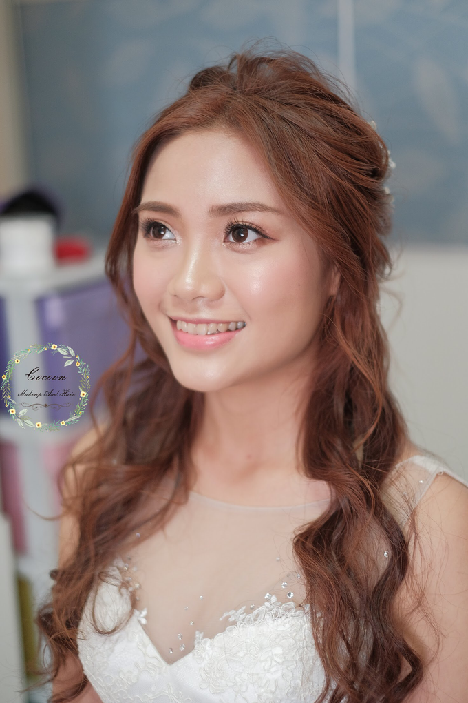 Bride Stephanie  by Cocoon makeup and hair - 003